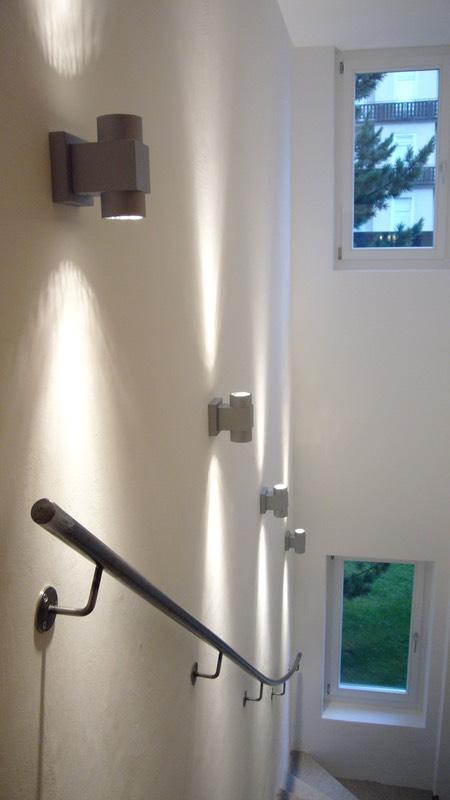 väggspegel med belysning