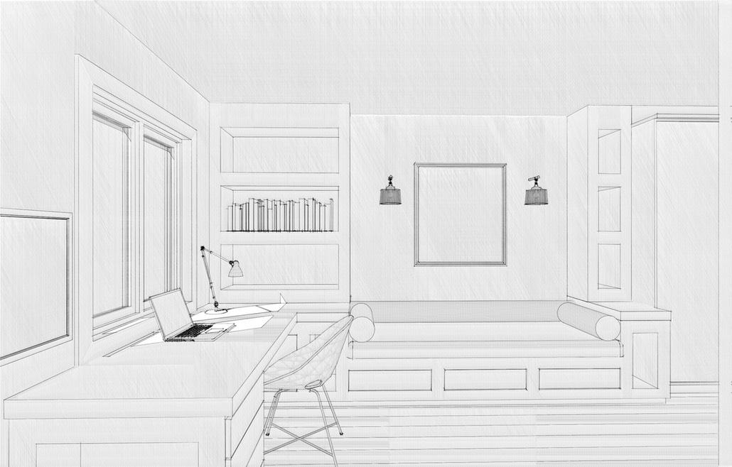 skiss-3D-perspektiv-specialinredning-special-snickerier-ritning ...